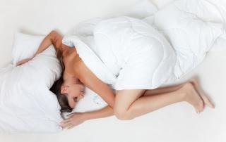 Bed Sleep Rest Girl