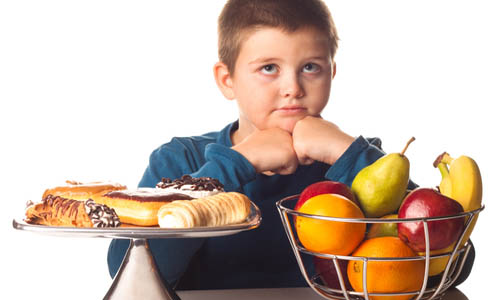 Fat Kid Stock Photo