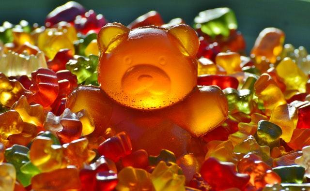 Giant Rubber Bear Gummibar Gummibarchen Fruit Gums