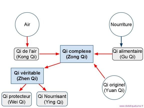 Les différents types de Qi - Énergies