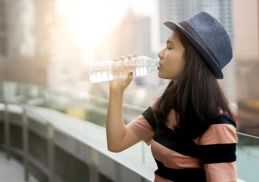 woda gorący dzień