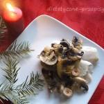 Dietetyczne dania wigilijne – karp z pieczarkami 200 kcal