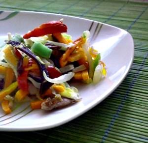 cielęcina z warzywami
