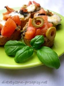 dietetyczna bruschetta