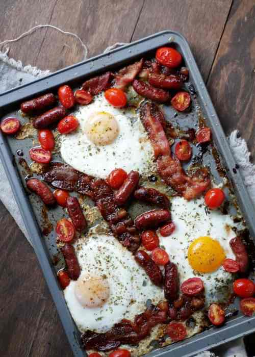 Bacon and Eggs Diethood Bacon and Eggs Breakfast Bake