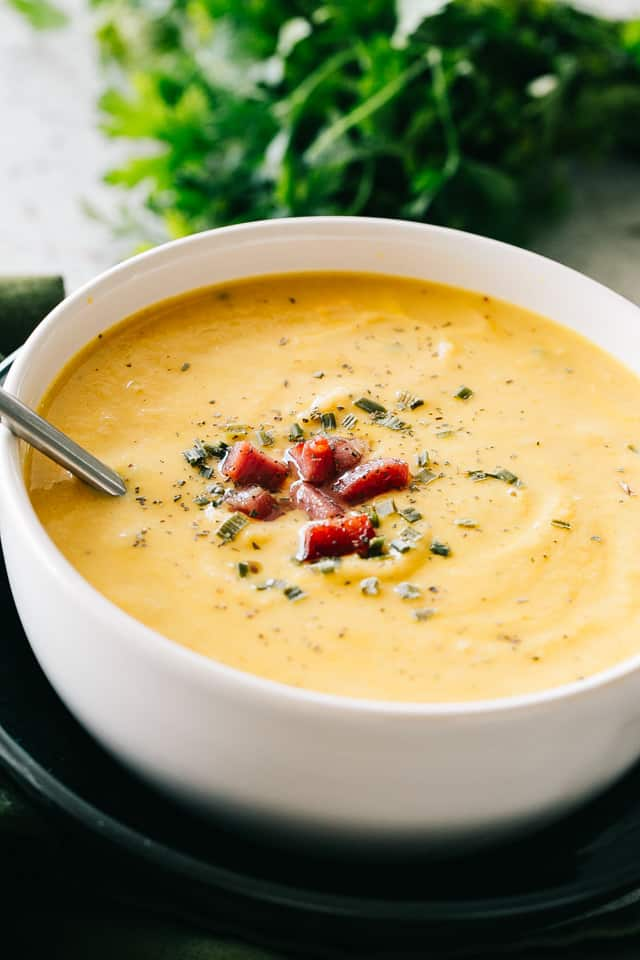 Keto Cauliflower Soup