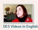 YouTube DES Videos in English language playlist image