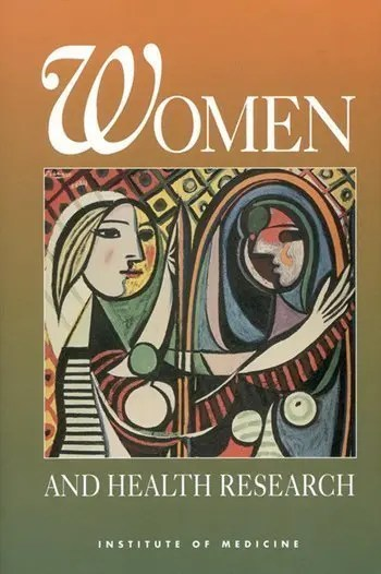 image of Women-and-Health-Research book cover