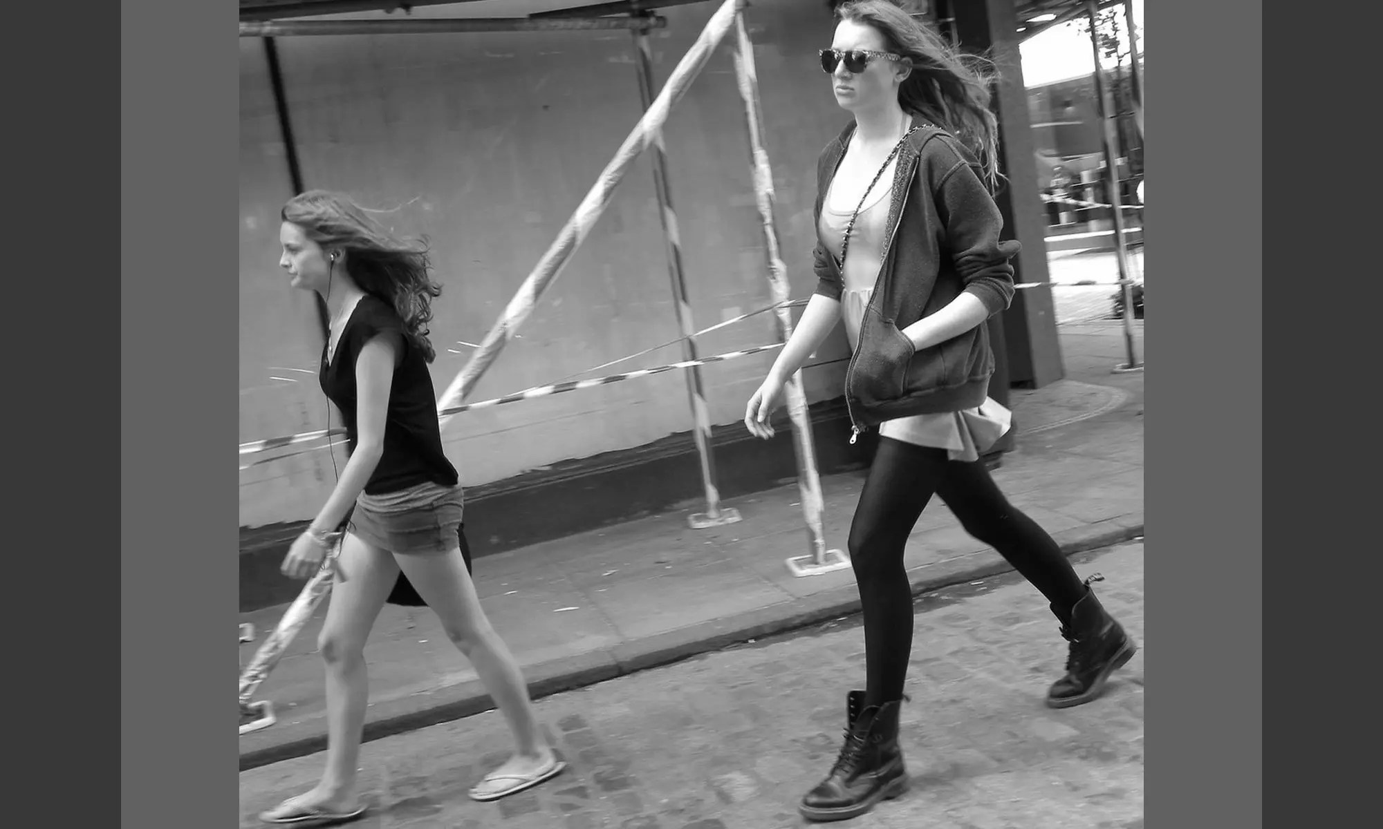 image of tall-girl-walking