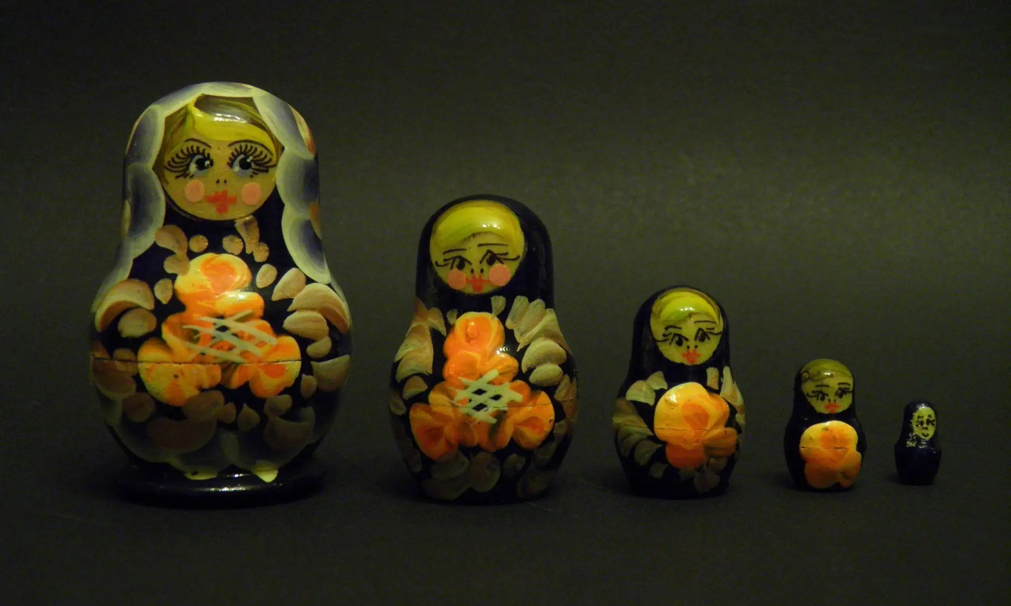 image of DES russian dolls