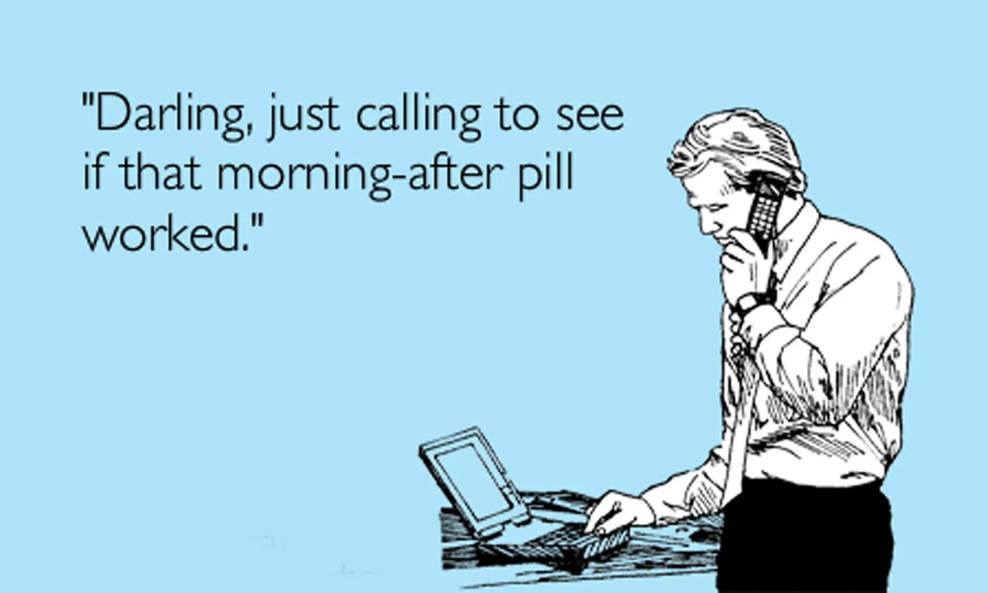 Contraception – the morning after