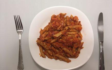 Receta: pasta con salmón, atún y verduras