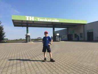 Unsere Tankstelle!
