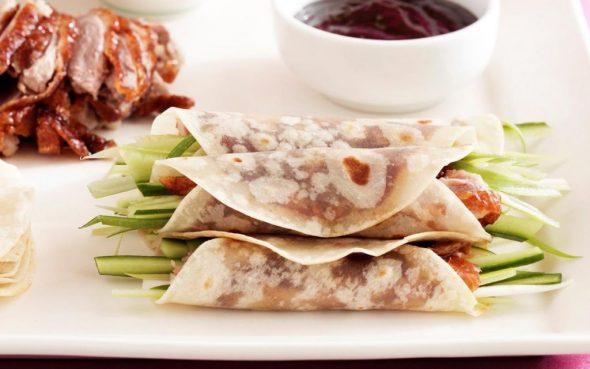 Peking Duck Pancakes