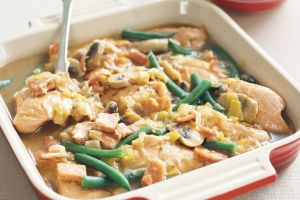 Easy Chicken and Leek Casserole