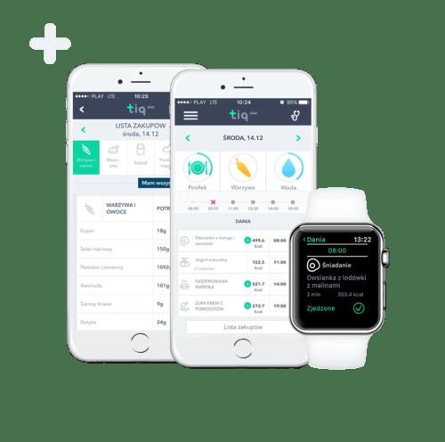 poradnia dietetyczna korzysta z aplikacji mobilnej