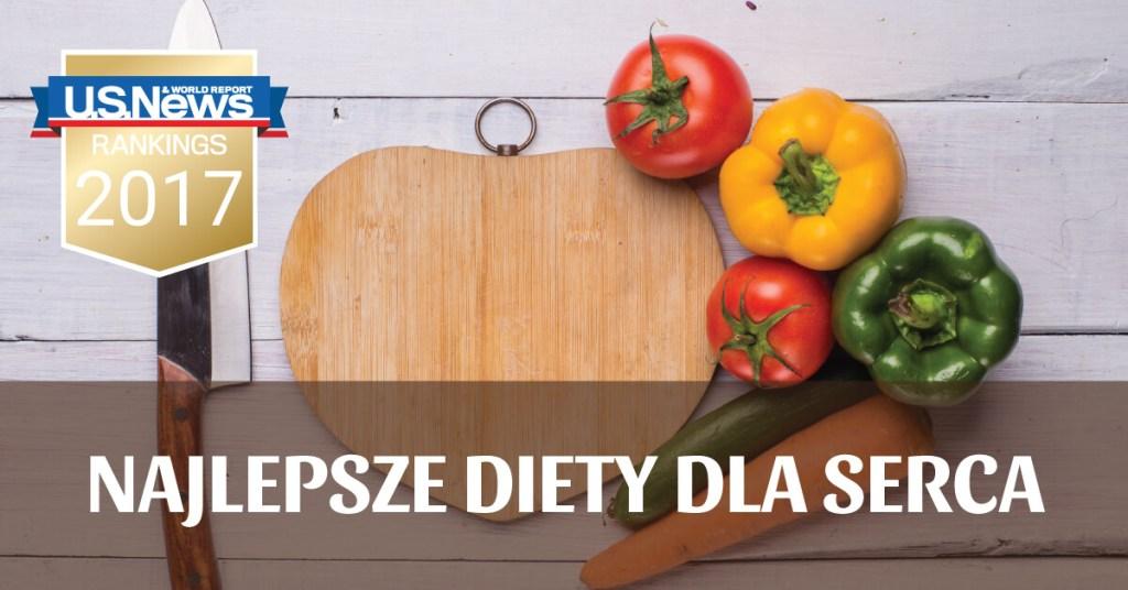 Najlepsze diety dla serca w 2017 roku!