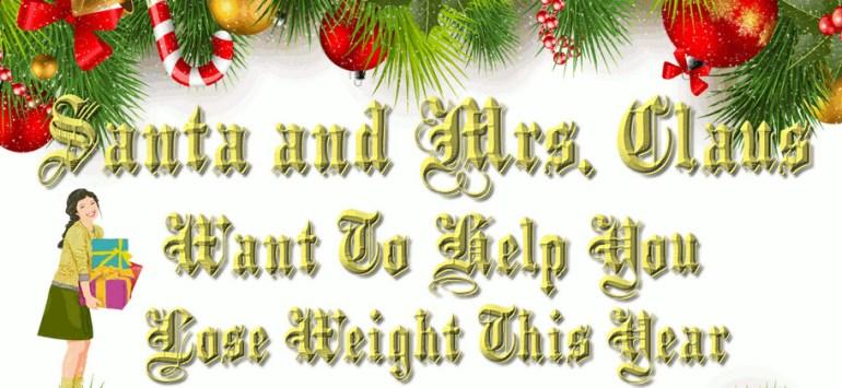 santa help lose weight