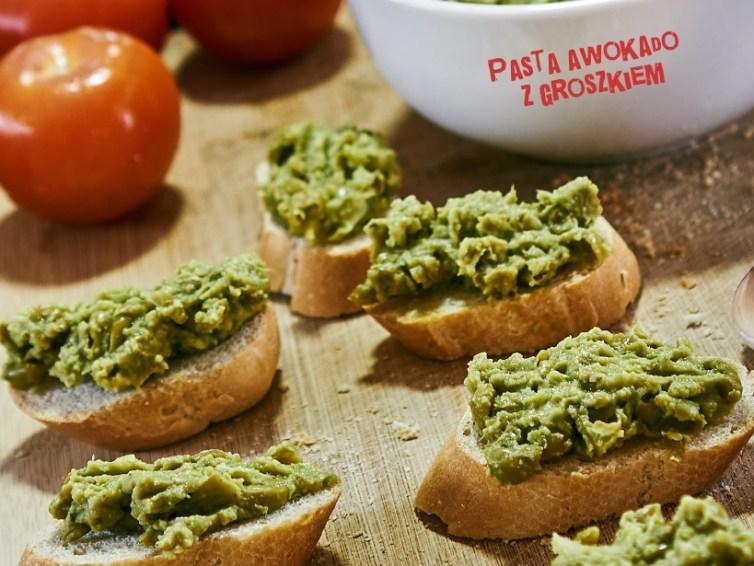 Pasta z zielonego groszku i awokado🥫 🥑