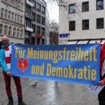 Freie Medien & Billy Six: Informationsstände in Köln am 26. & 27.01. trotz Regen und Störaktionen sehr gut besucht!