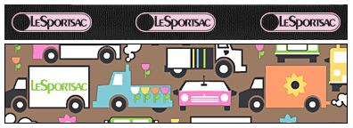 LeSportsac Reversible Tote Black/Truckin'