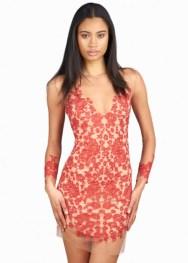 For Love and Lemons Luau Dress Red