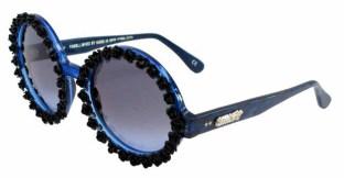 A-Morir Roses Navy Sunglasses ss2016