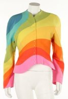 1990 Thierry Mugler Rainbow jacket