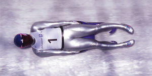 Athlete Luge