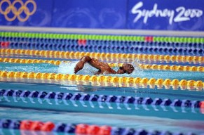 Olympic Athletes Eric-Moussambani Photo Mike Powell - Getty Images