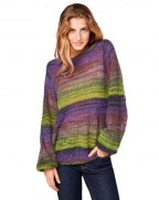 benetton-multi-colored-sweater-green