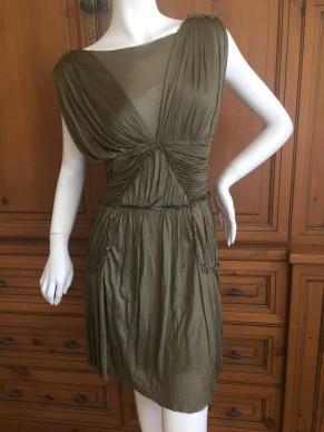 alexander-mcqueen-green-draped-goddess-mini-dress-mcq-fall-2010-3