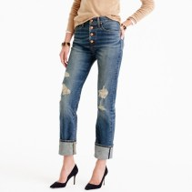 Point Sur High Rise Stacker Jeans J Crew