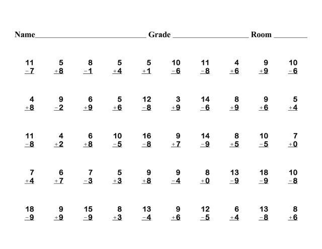 1st Grade Worksheets Science