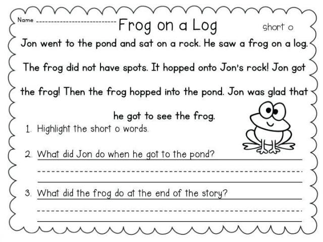 1st Grade Worksheets Writing