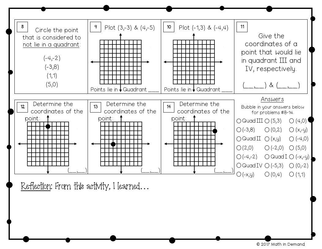 6th Grade Math Worksheets With Answers