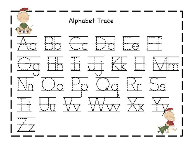 Alphabet Worksheets 1