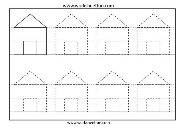 Preschool Worksheets Letter A