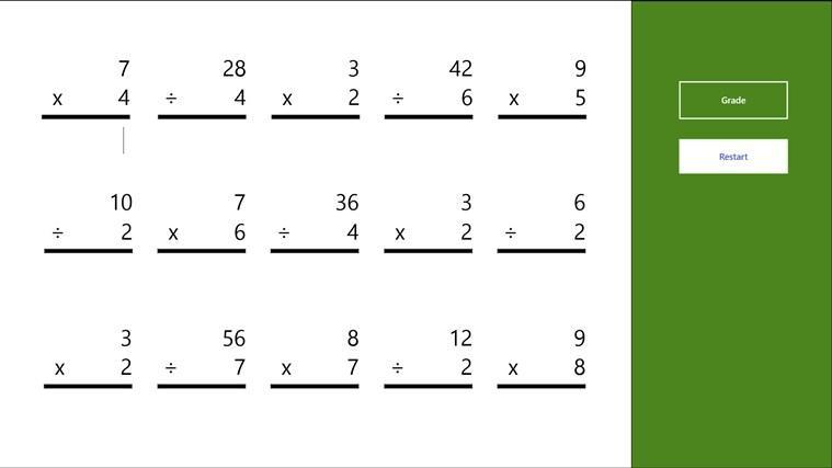 Multiplication Coloring Worksheets Easy