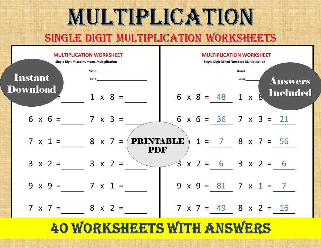 Multiplication Grouping Worksheets Grade 2