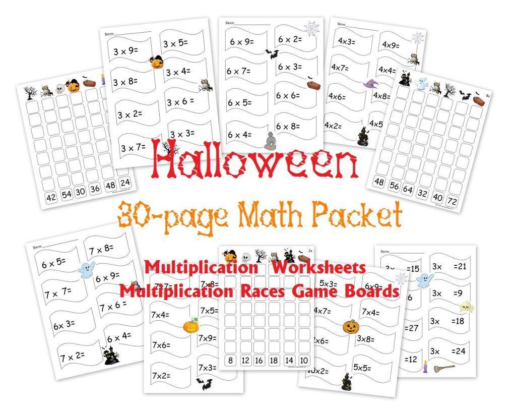 Multiplication Worksheet Examples 6