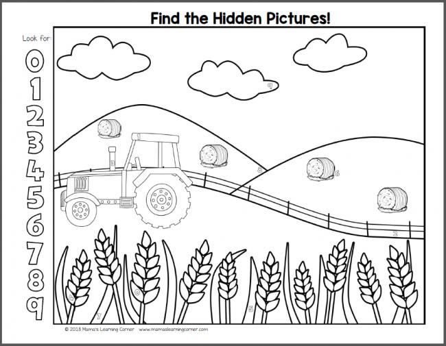 Multiplication Worksheet Hidden Picture 4