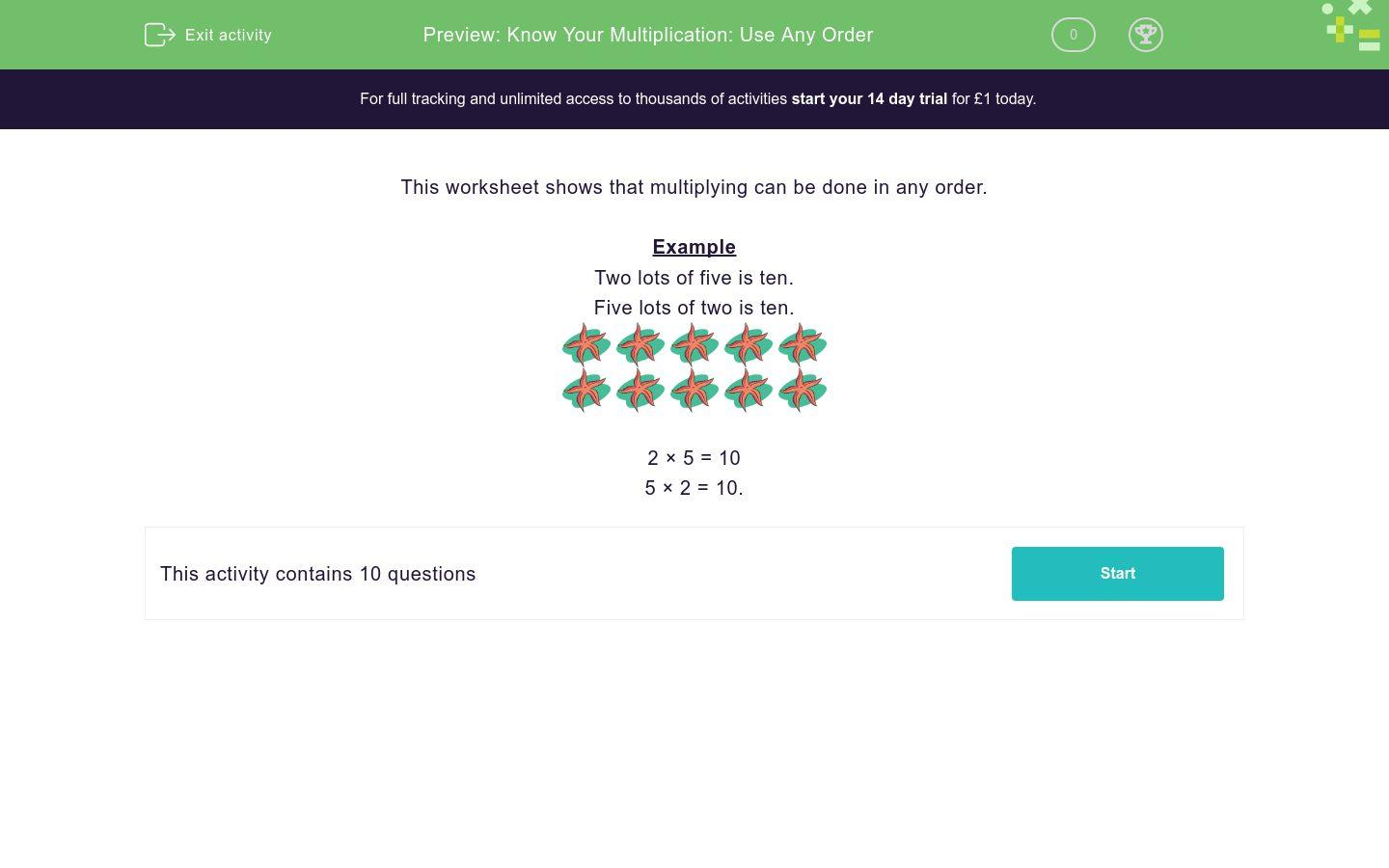 Multiplication Worksheets 0 To 12