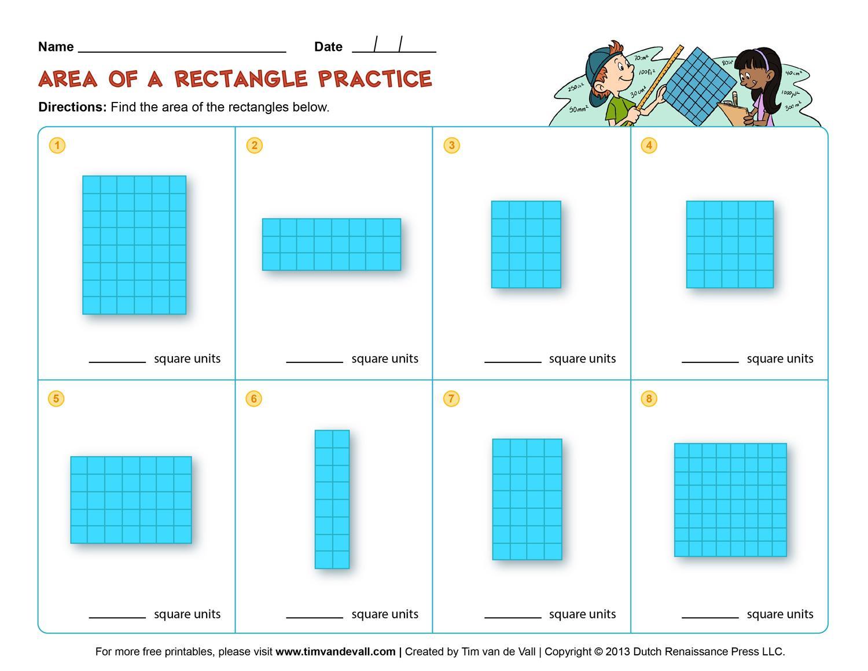 Perimeter Worksheets 1