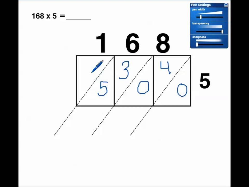 Multi Digit Multiplication Worksheets 4th Grade
