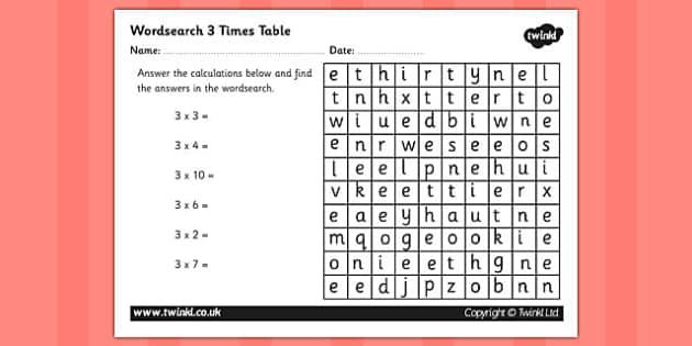 Multiplication Worksheets 3rd Grade Pdf