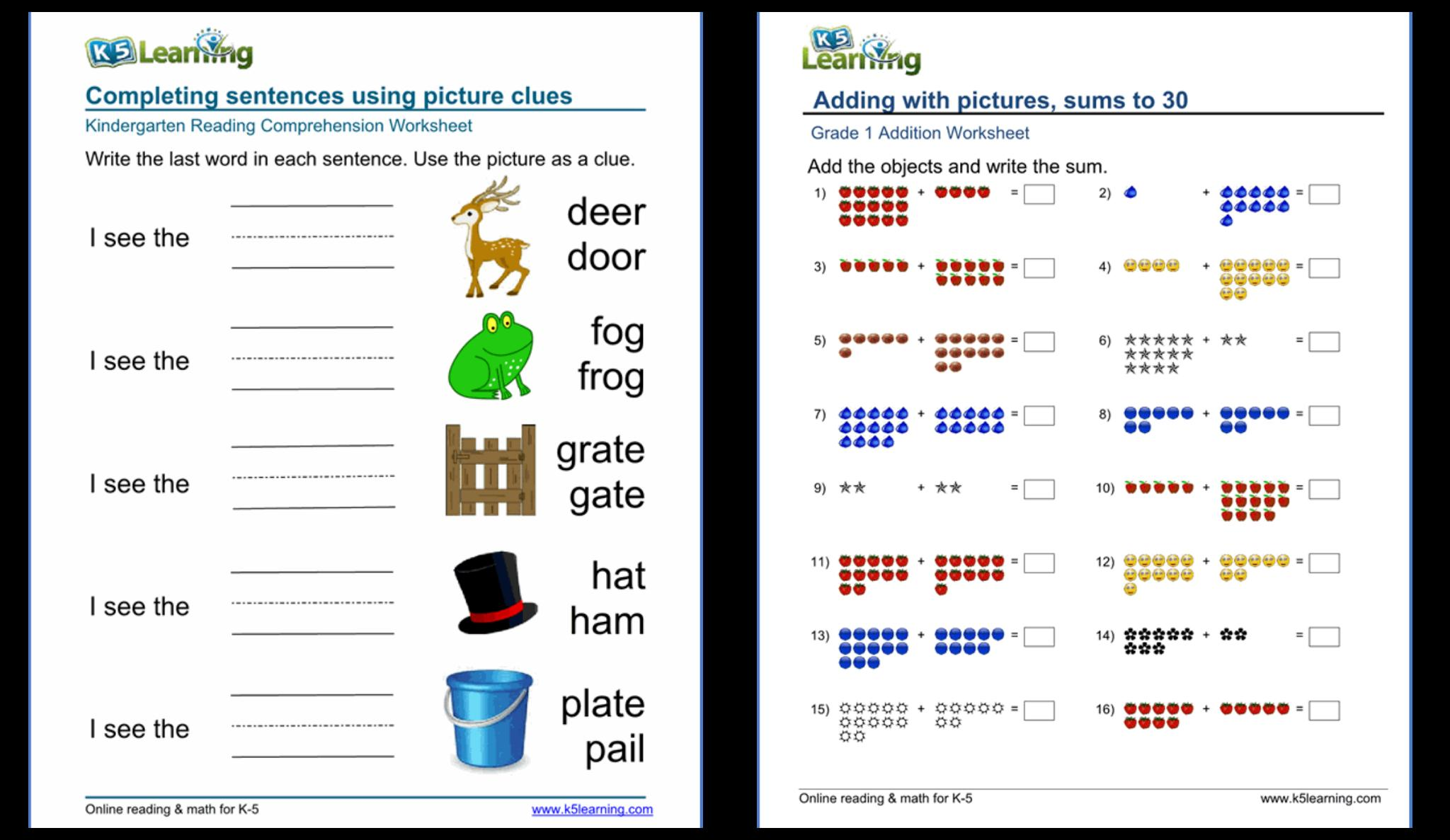 Multiplication Worksheets Grade 3 K5 Learning