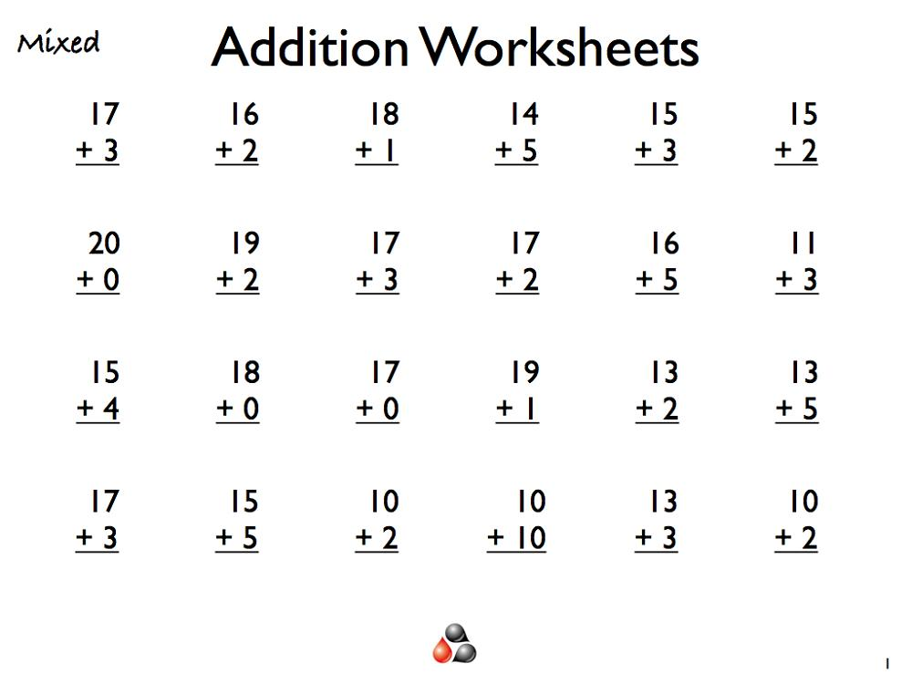 Multiplication Worksheets Level 1 8