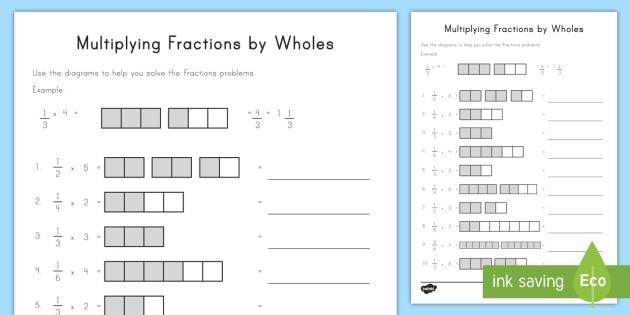 Free Visual Multiplication Worksheets