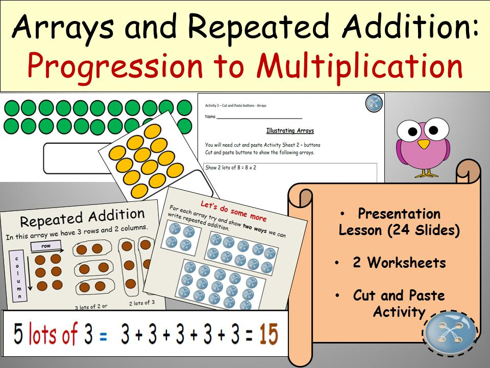 Multiplication With Arrays Worksheets For 4th Grade